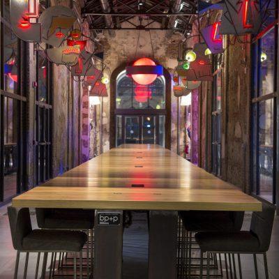 Snodo social table - spazio - 2